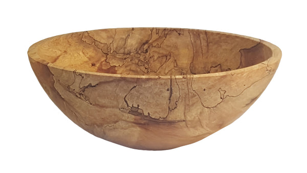 Round Bowl, Spalted Ambrosia, 21""
