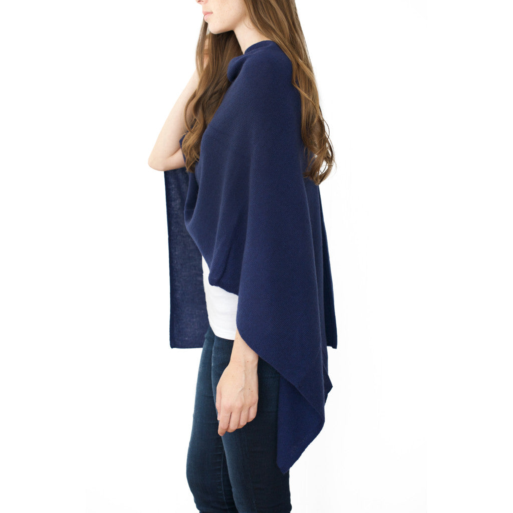 Midnight Cashmere Dress Topper