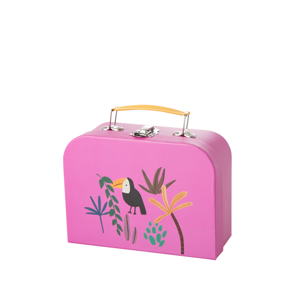 Jungle Animal Suitcase, Small Toucan