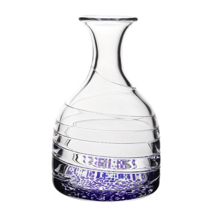 William Yeoward Crystal Vanessa Carafe, Blue