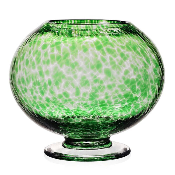 William Yeoward Crystal Vanessa Rose Bowl, Green