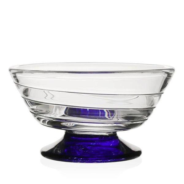 William Yeoward Crystal Vanessa Nut Bowl, Blue