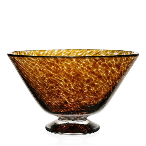 William Yeoward Crystal Vanessa Bowl, Tortoise