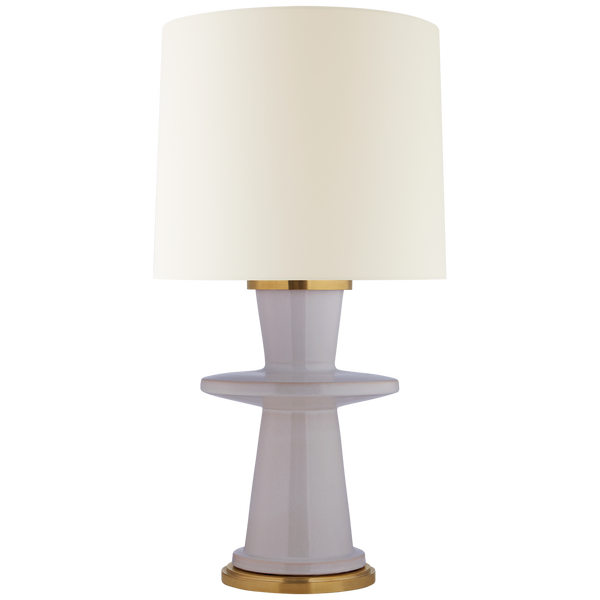 Varney Medium Table Lamp, Lilac