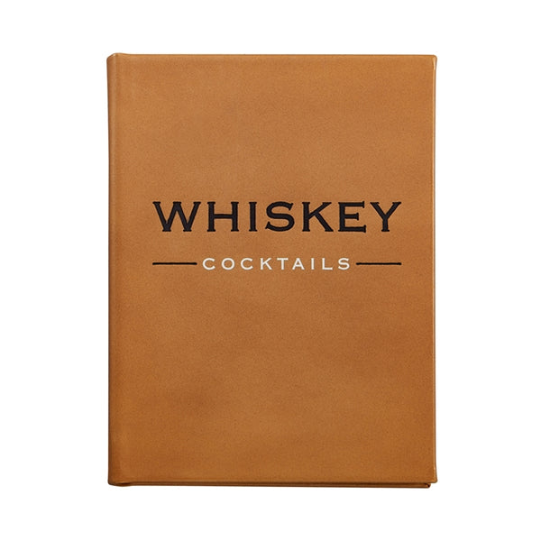 Whiskey Cocktails Book, Cognac Leather