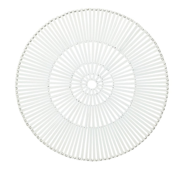 Spoke Placemat, White