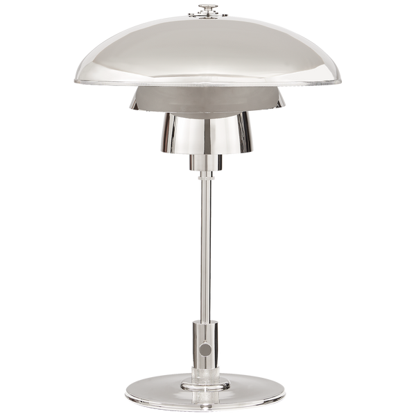 Whitman Desk Lamp, Polished Nickel