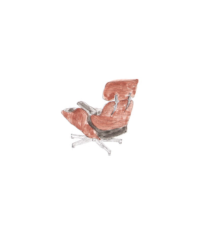 #135 Eames Lounge Chair - Spot On Collective