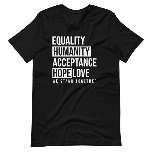 Unisex Equality We Stand Together Short-Sleeve T-Shirt