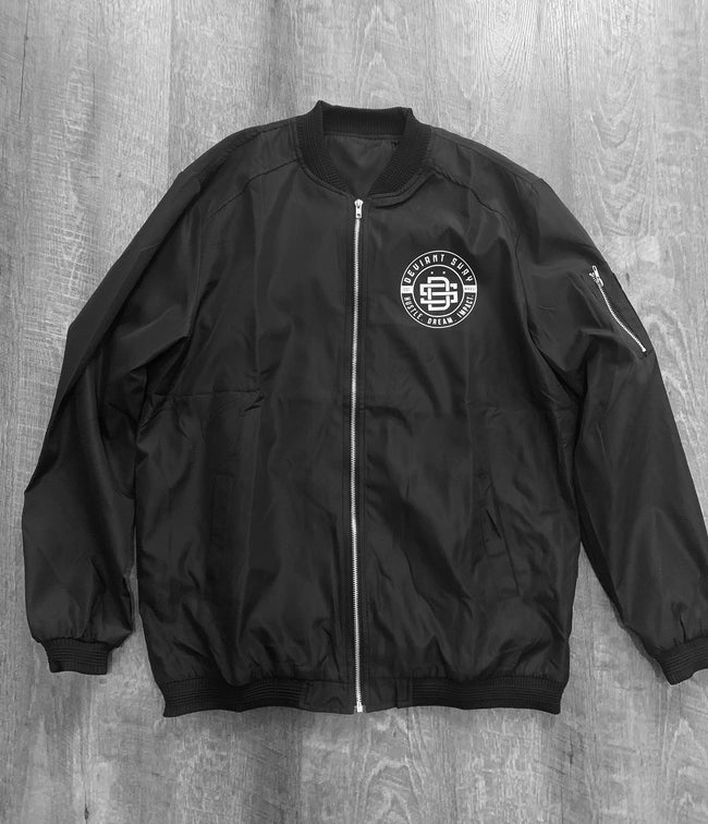 DS Hustle Dream Impact Logo Signature Bomber Jacket