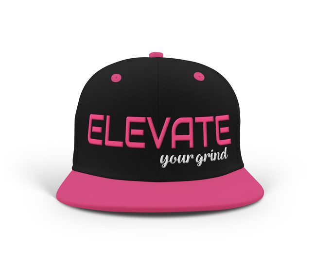 Elevate Your Grind Snapback - Deviant Sway