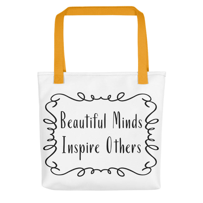 Deviant Sway Beautiful Minds Inspire Others Tote bag - Deviant Sway