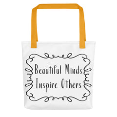 Deviant Sway Beautiful Minds Inspire Others Tote bag