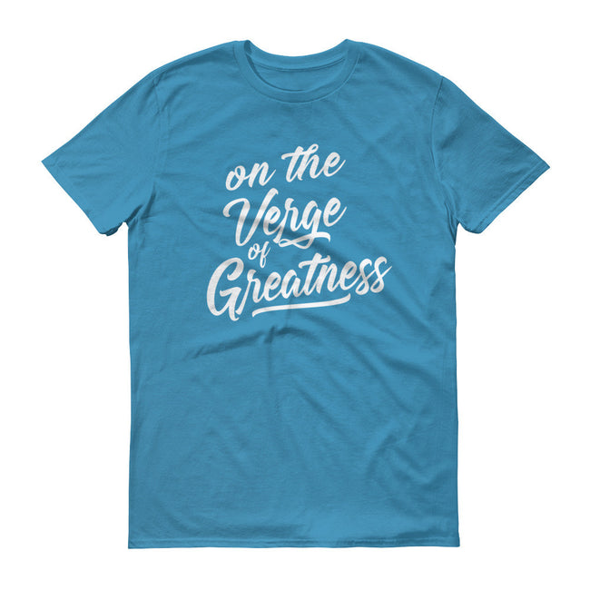Men's On the Verge of Greatness short sleeve t-shirt - Deviant Sway