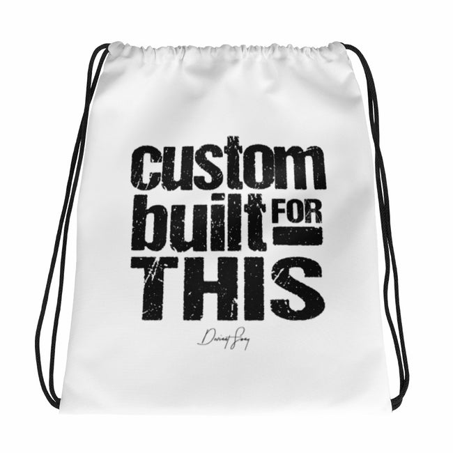 Custom Built for This Drawstring bag - Deviant Sway