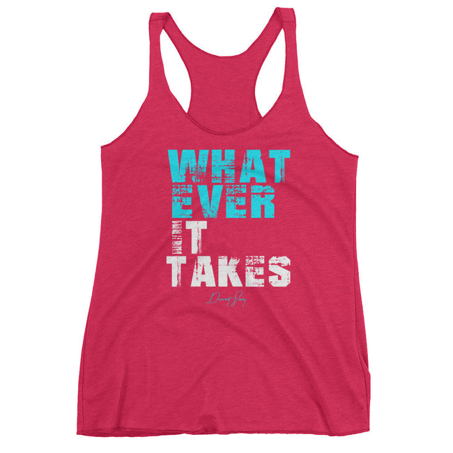 Women's Whatever it Takes racerback tank - Deviant Sway