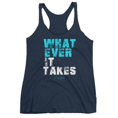 Women's Whatever it Takes racerback tank
