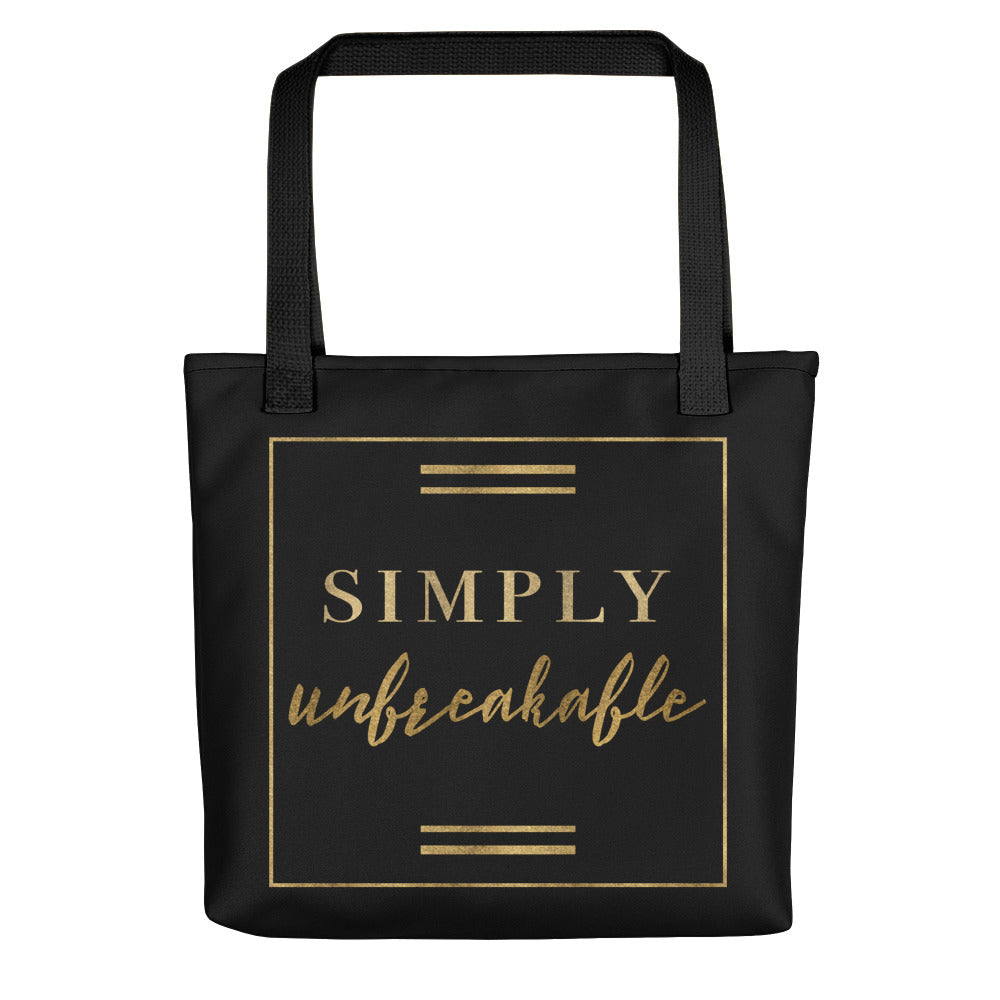 Deviant Sway Golden Simply Unbreakable Tote bag