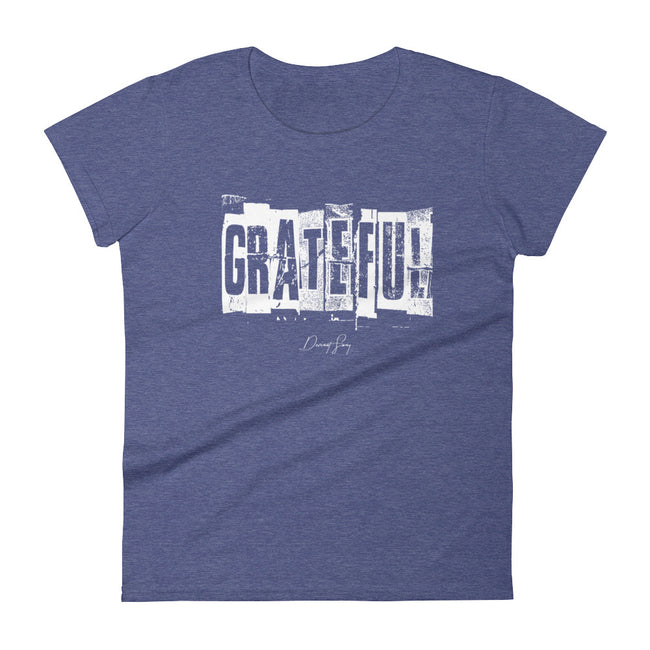Women's Grateful short sleeve t-shirt - Deviant Sway