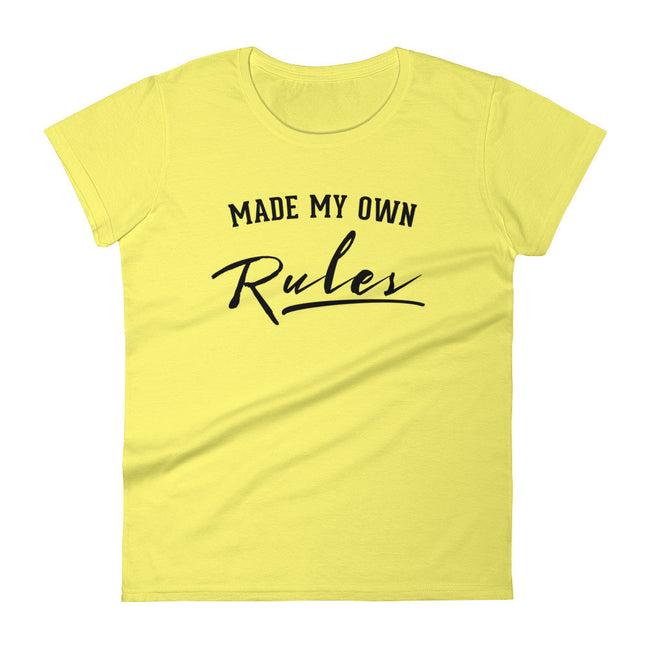 Women's Made My Own Rules short sleeve t-shirt - Deviant Sway