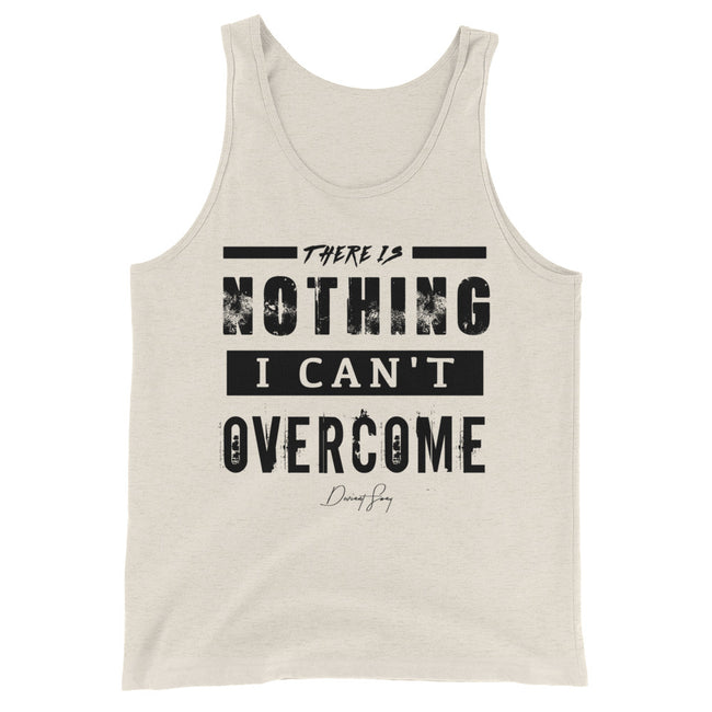 Men's There's Nothing I Can't Overcome Tank Top - Deviant Sway