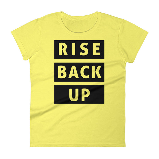 Women's Rise Back Up short sleeve t-shirt - Deviant Sway