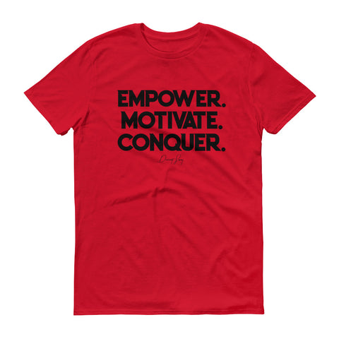 Men's Deviant Sway Empower Motivate Conquer Signature short sleeve t-shirt