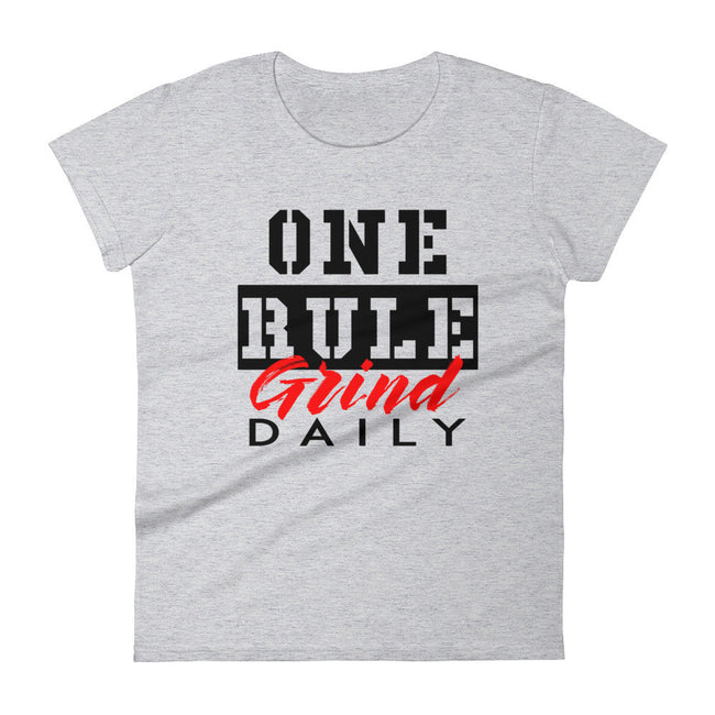 Women's One Rule Grind Daily short sleeve t-shirt - Deviant Sway