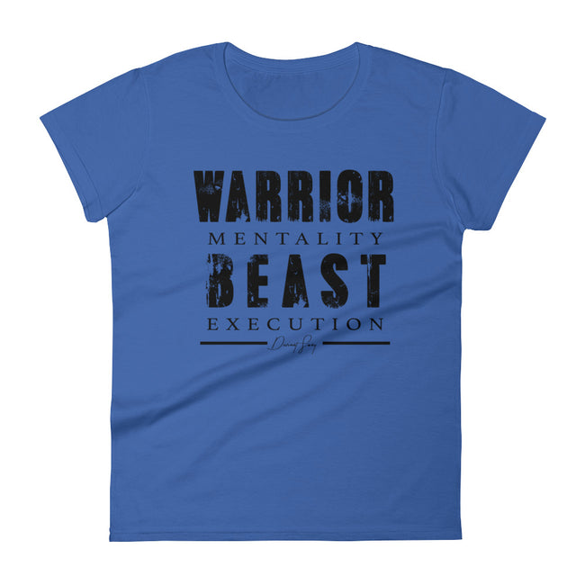 Women's Warrior Mentality Beast Execution short sleeve t-shirt - Deviant Sway