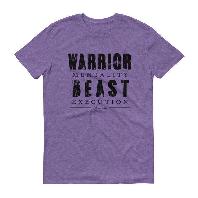 Men's Warrior Mentality Beast Execution short sleeve t-shirt - Deviant Sway