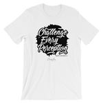Unisex Challenge Every Perception Dream Differently Signature T-Shirt