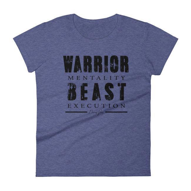Women's Warrior Mentality Beast Execution short sleeve t-shirt