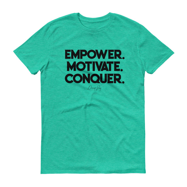 Men's Deviant Sway Empower Motivate Conquer Signature short sleeve t-shirt - Deviant Sway