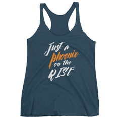 Women's Just a Phoenix on the Rise racerback tank
