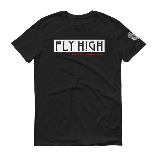 Men's Fly High Rise Above short sleeve T-Shirt - Deviant Sway