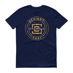 Deviant Sway Classic Vintage Gold Signature short-sleeve t-shirt