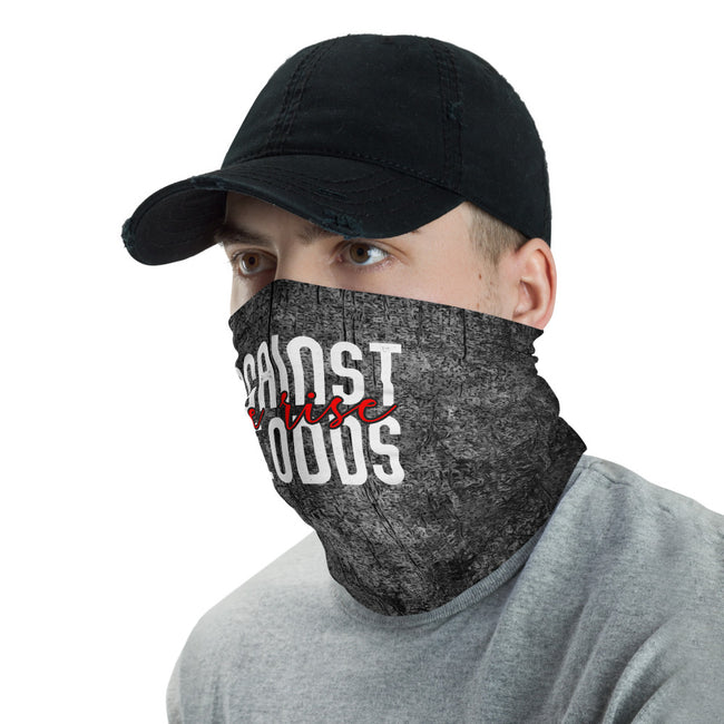 Unisex Against All Odds We Rise Neck Gaiter - Deviant Sway