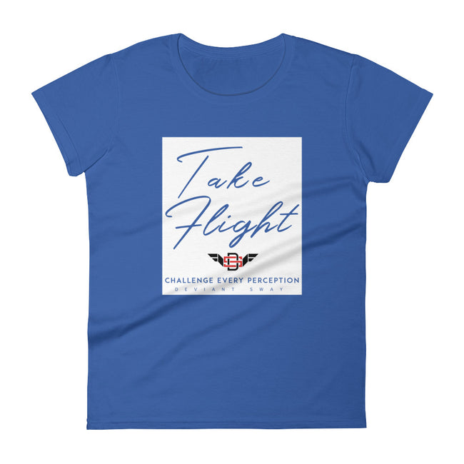 Women's Deviant Sway Take Flight Territory short sleeve t-shirt