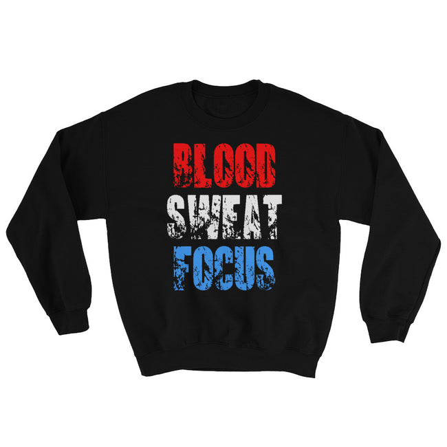 Blood Sweat Focus Sweatshirt - Deviant Sway