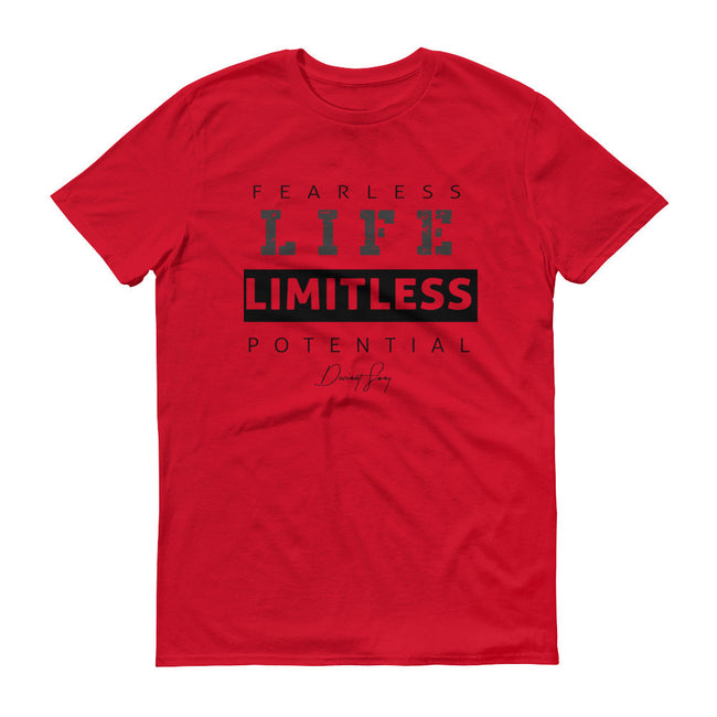 Men's Fearless Life Limitless Potential short sleeve t-shirt - Deviant Sway