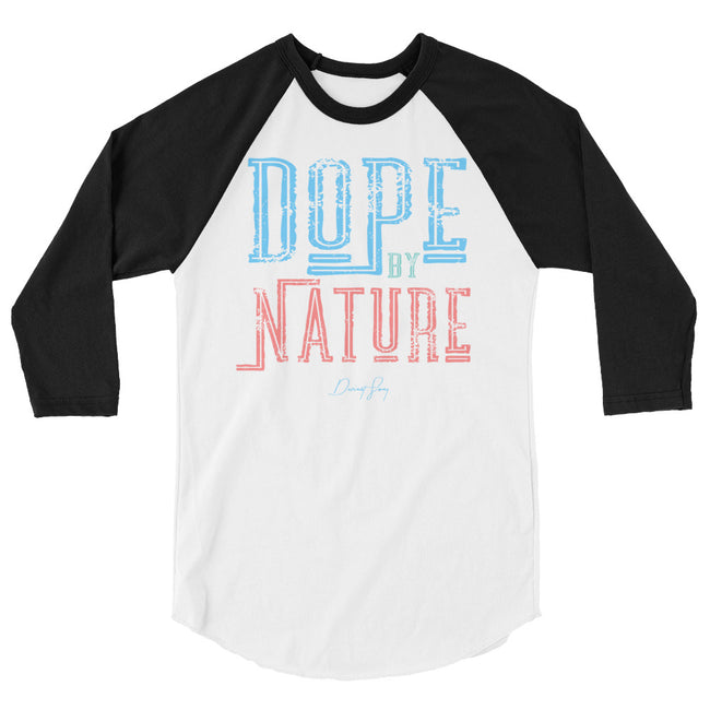 Dope by Nature 3/4 sleeve raglan shirt - Deviant Sway