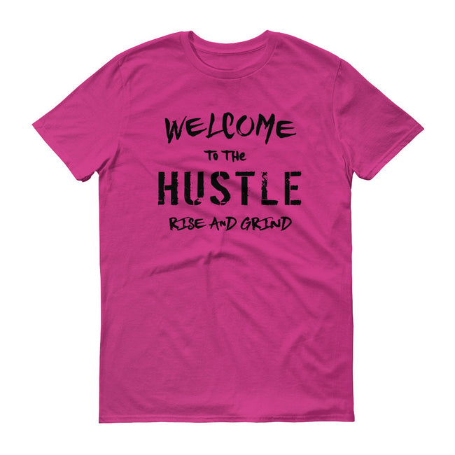 Men's Welcome to the Hustle short sleeve t-shirt - Deviant Sway