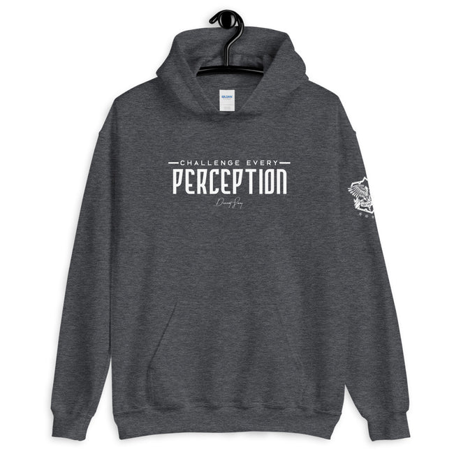 Challenge Every Perception Signature Hoodie - Deviant Sway