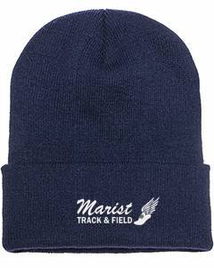 Beanie Winged Foot Marist Track