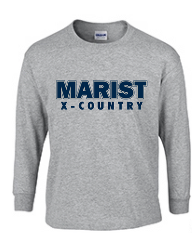 X-Country Ultra Cotton 6 oz. Long Sleeve Tee