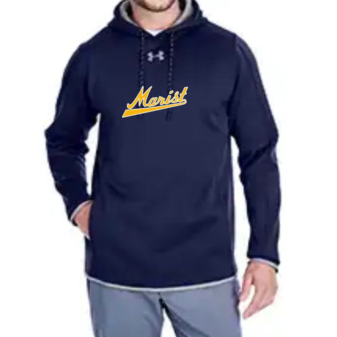 "Men's Hoodie - ""New Dugout Approved Hoodie for 2019"" - Marist Baseball"