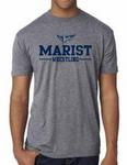 Next Level Short Sleeve Triblend Tee - Unisex - Marist Wrestling