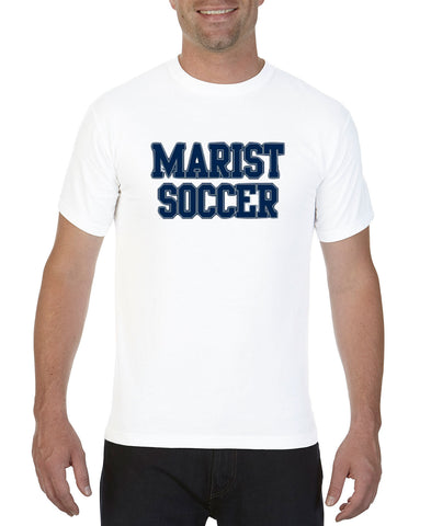 Short Sleeve Tee - Unisex - Adult and Youth Sizes - Comfort Color - Marist Soccer