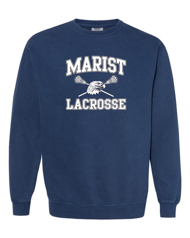 Classic Old School Sweatshirt! Soft and Comfy! Lacrosse
