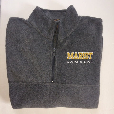 1/4 Zip Fleece Pullover Harriton - Unisex - Marist Sports - NEW for 2018!  please note NOT Uniform Approved